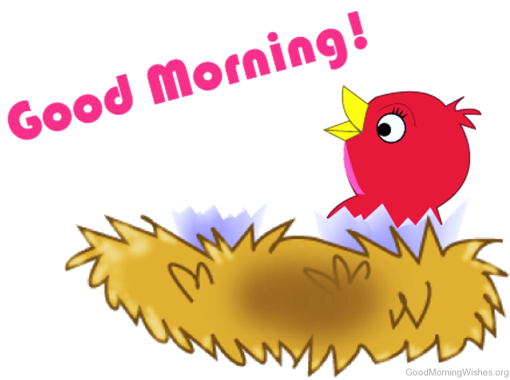 Good Morning Clip Art Wishes Transparent Png.