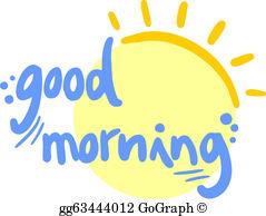 Good Morning Clip Art.
