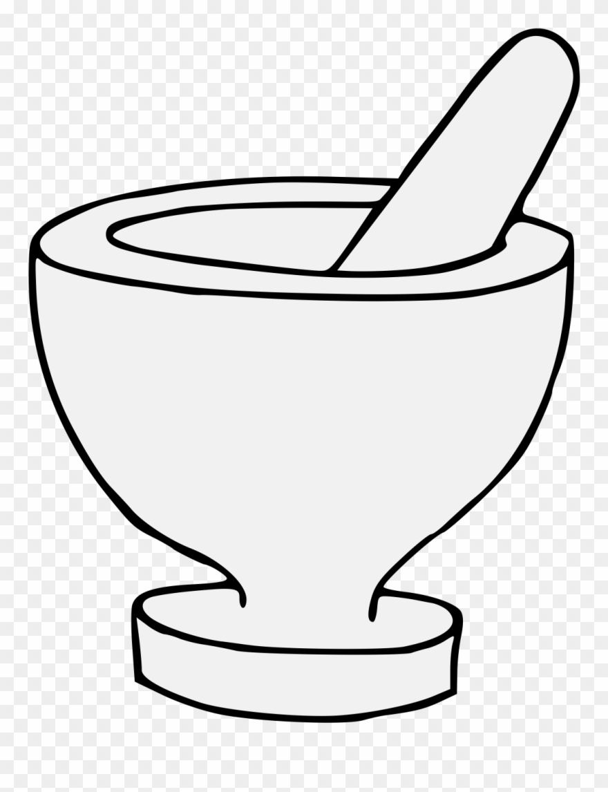 Mortar And Pestle Clipart (#524015).