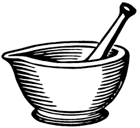 Ephemeraphilia: Free Vector Art: Mortar and Pestle.