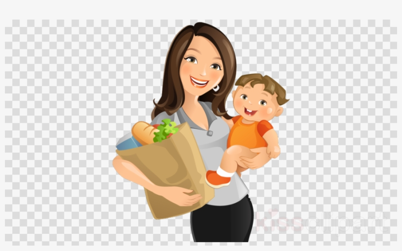 Mom And Son Png Clipart Mother Clip Art.