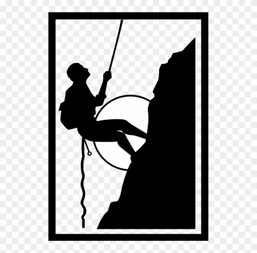 Clip Art Mountain Climber, HD Png Download.