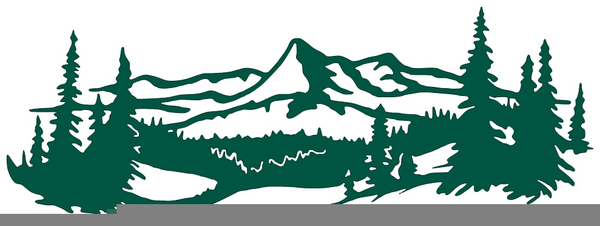 Free Mountain Range Clipart Images At Clker Com Vector Clip Antique.