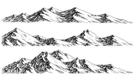 12,397 Mountain Range Cliparts, Stock Vector And Royalty Free.