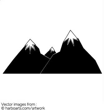 Download : Mountain Peak With Snow on Top.