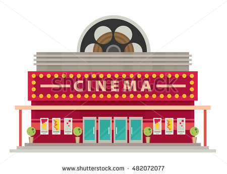 Movie theatre clipart 2 » Clipart Station.