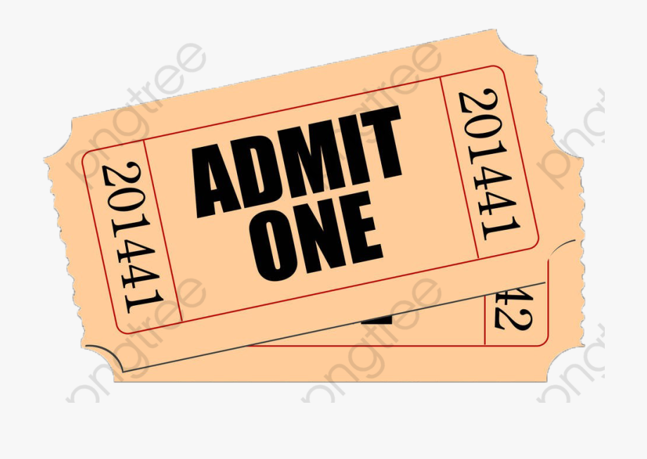 Yellow Movie Ticket.