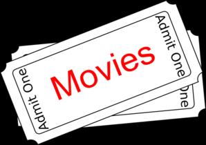 Movies Ticket Button Clip Art at Clker.com.