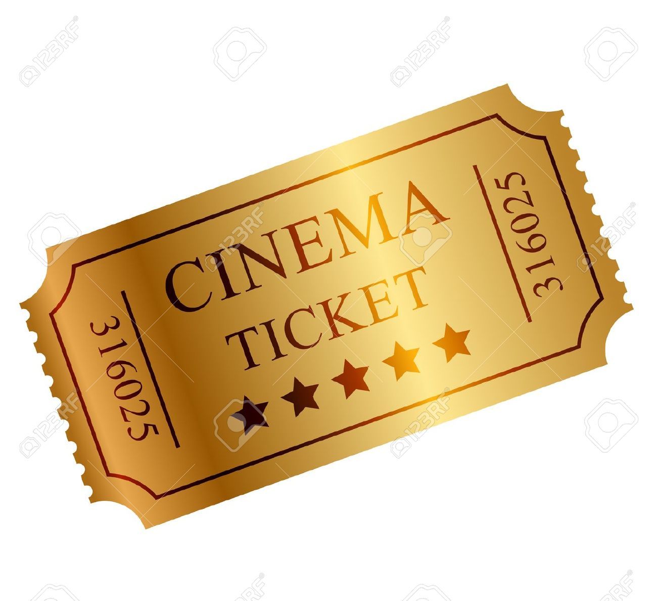 Movie Ticket Clipart 6.