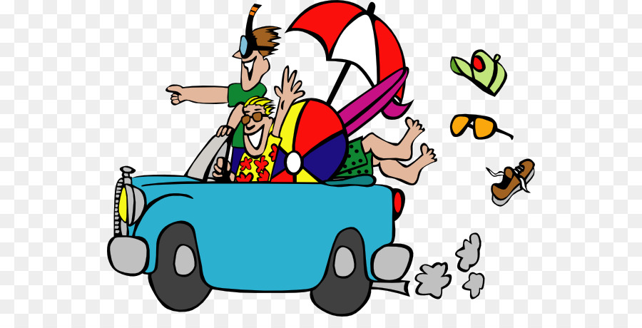 Spring Break School Holiday Clip Art Moving Beach Cliparts Png.