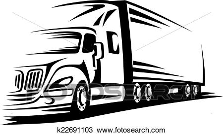 Moving truck Clipart.