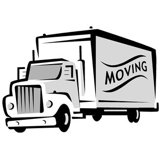 57+ Moving Truck Clipart.