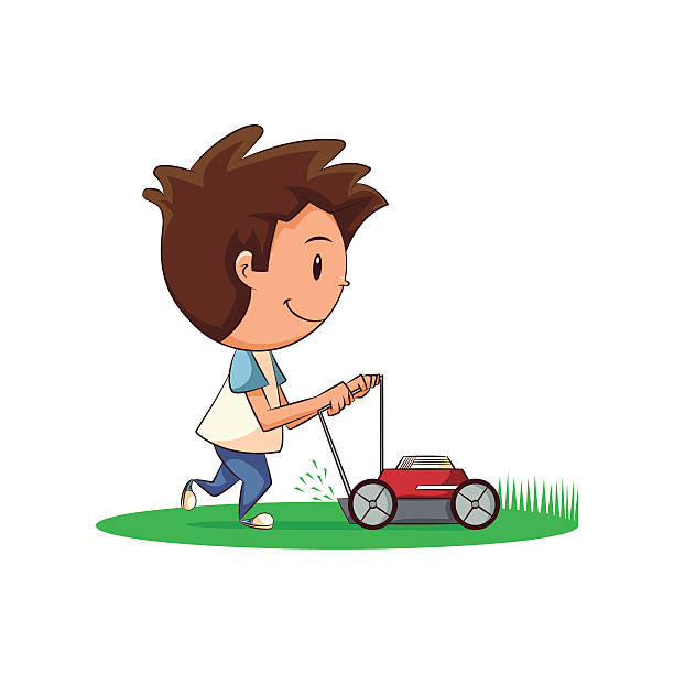 Top 60 Mowing Lawn Clip Art, Vector Graphics and Illustrations.