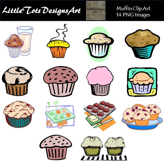 Muffin Clipart Muffins Clipart Muffin Digital Bakery Clipart Bake Clipart  Cupcake Clipart Food Clip Art Sweets Clipart Commercial Use.