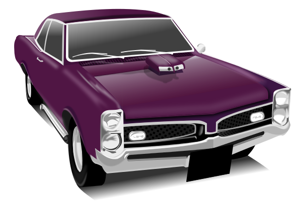 Classic muscle car clipart gram image #41967.