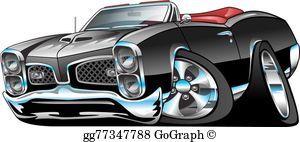 Muscle Car Clip Art.
