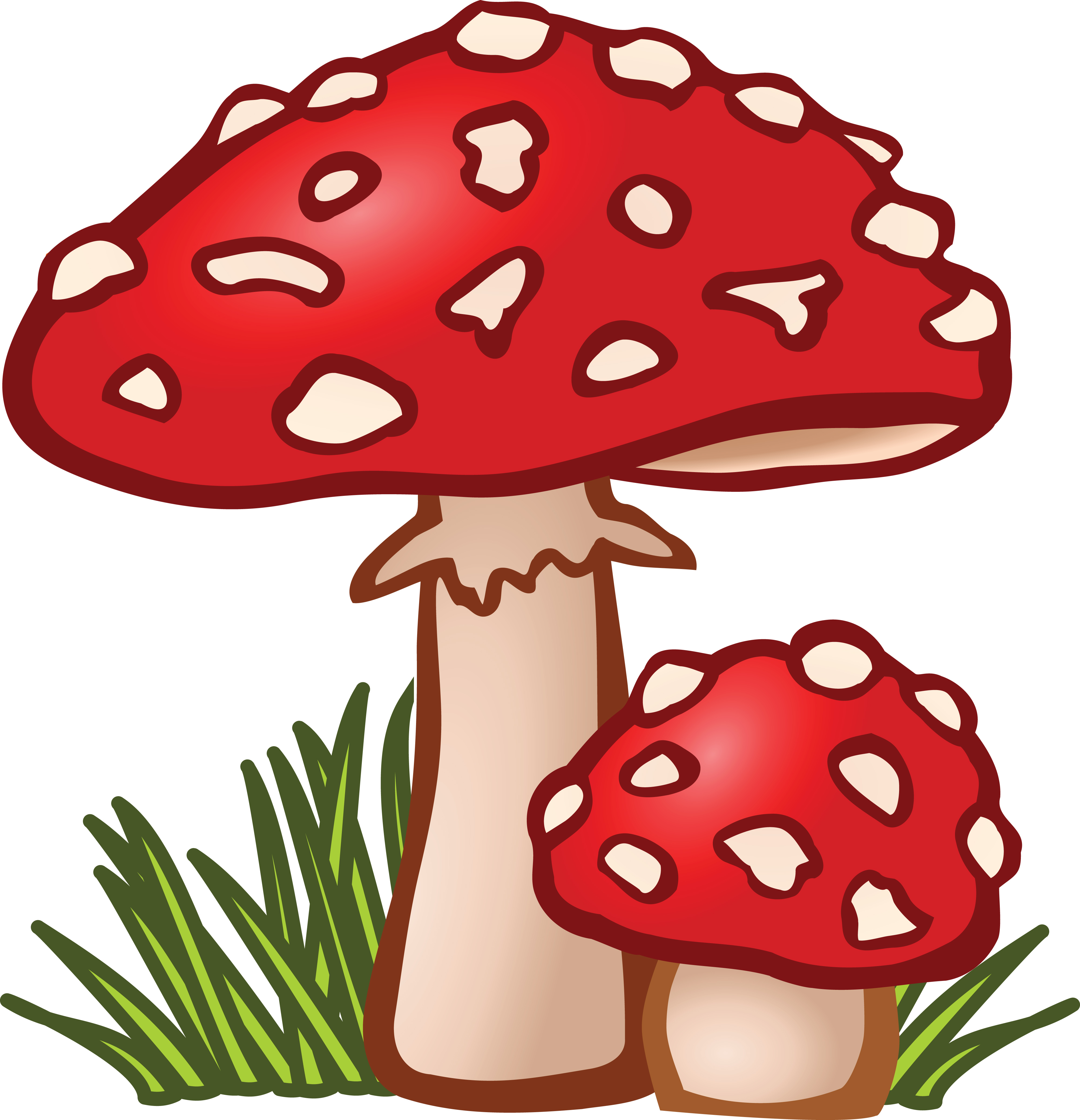 Free Clipart Of mushrooms.