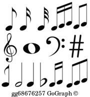 Music Note Clip Art.