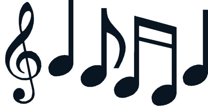 Clipart music notes symbols clipartsgram.