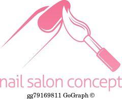 Nail Salon Clip Art.