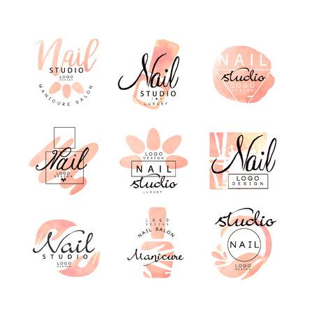7,307 Nail Salon Stock Vector Illustration And Royalty Free Nail.