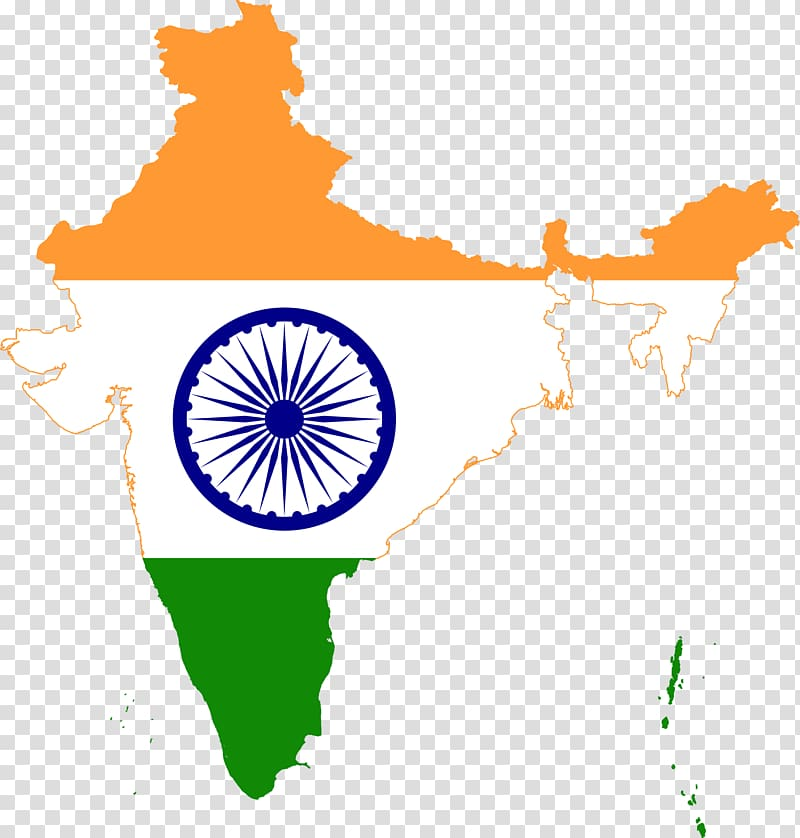 Flag of India Map National flag, indian flags transparent background.