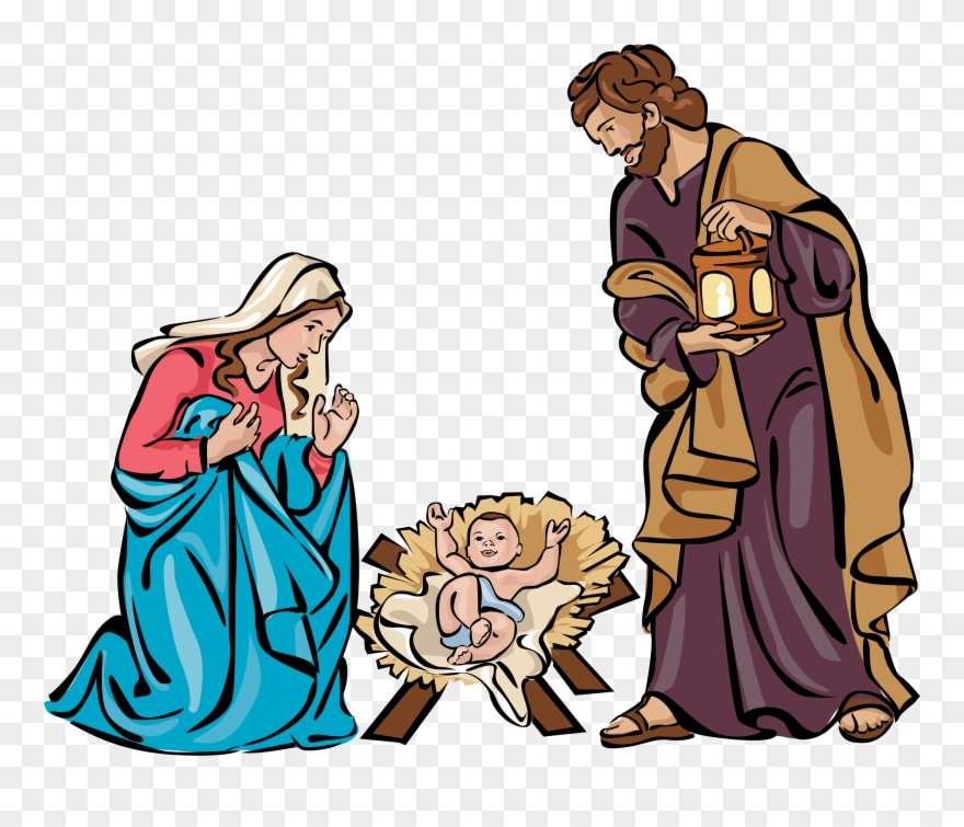 Church Nursery Clipart For Christmas.