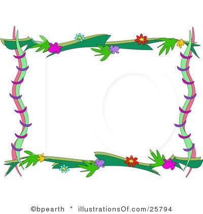 Nature border design clipart 2 » Clipart Portal.