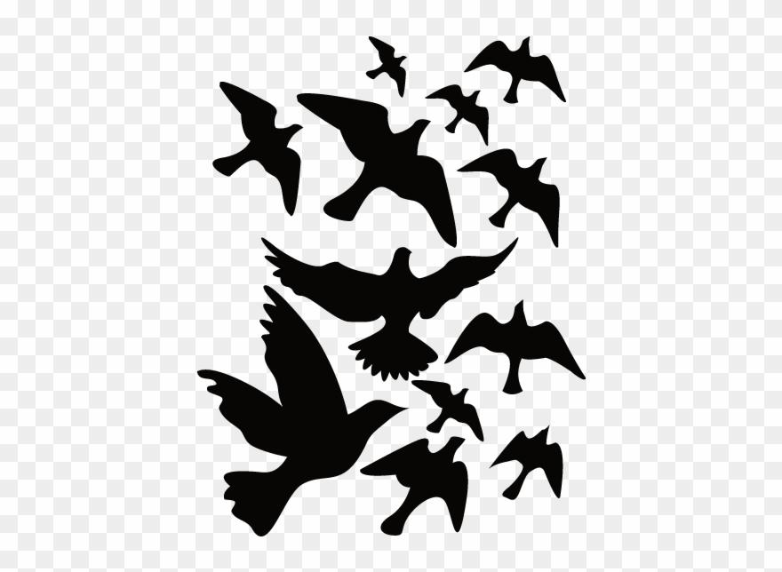 Sticker Nature Oiseaux.