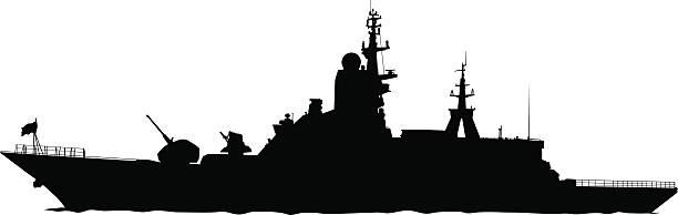 Best Navy Ship Illustrations, Royalty.