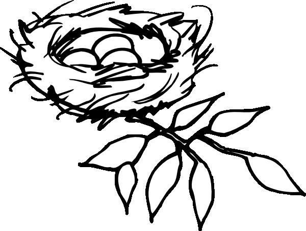 Nest Outline Clip Art at Clker.com.