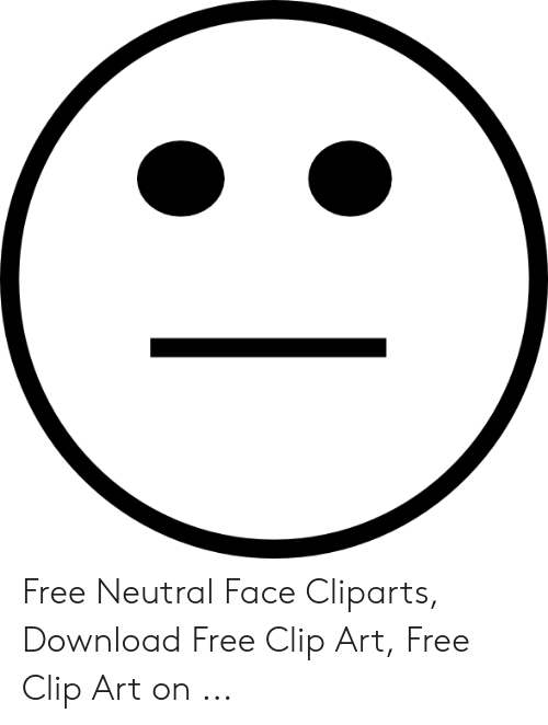 Free Neutral Face Cliparts Download Free Clip Art Free Clip Art on.