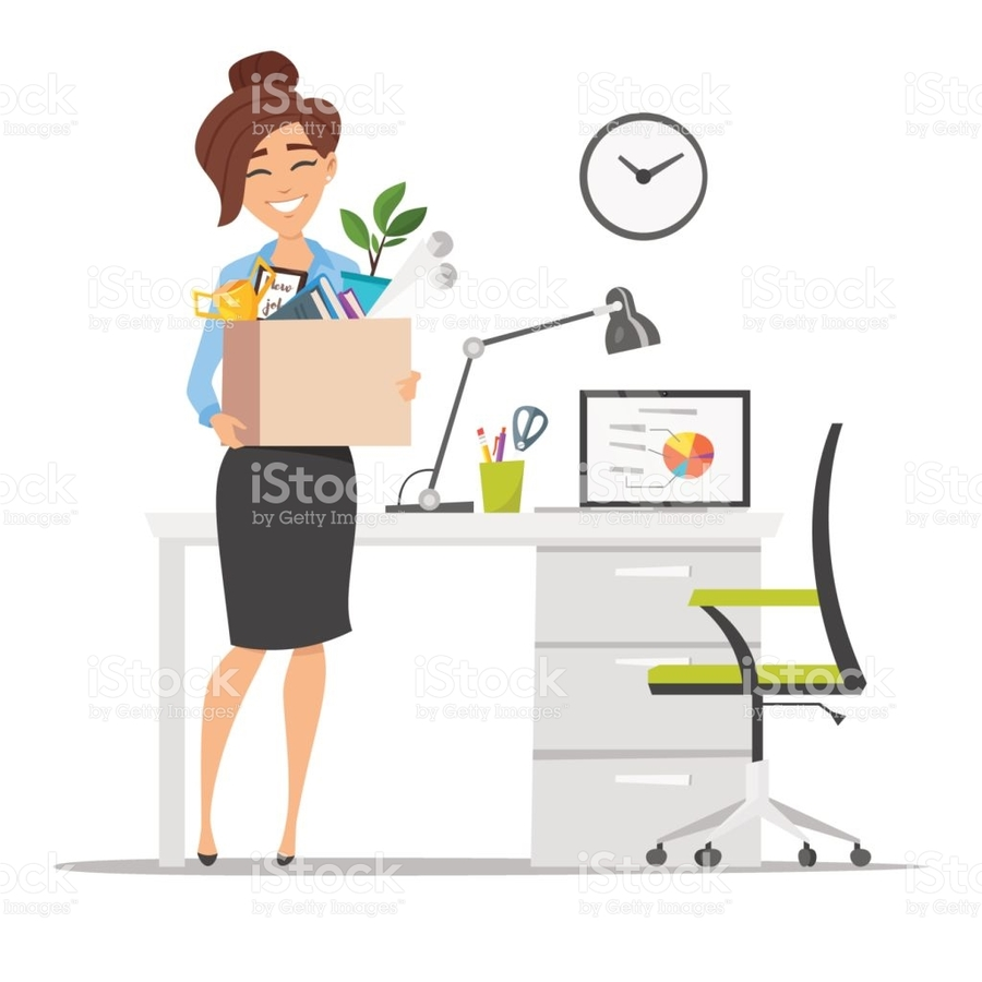 Download new job cartoon clipart Employment Job.