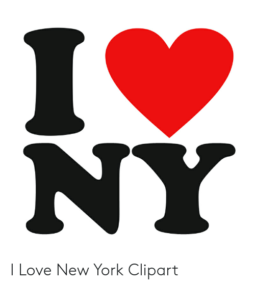NY I Love New York Clipart.