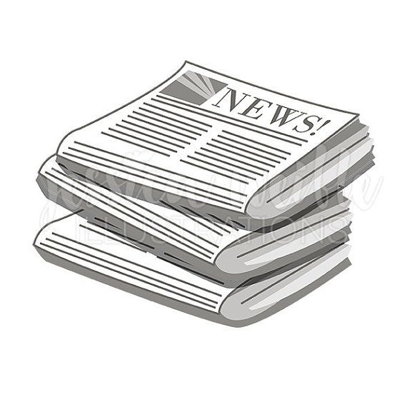 Stack Of Newspapers Cute Digital Clipart Newspaper Clip Art within.