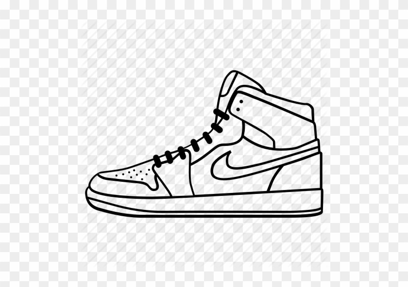 Nike shoes clipart 2 » Clipart Portal.