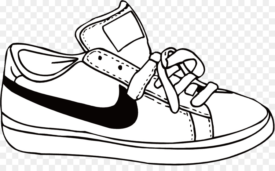 Nike Drawing png download.