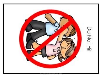 No hitting clipart 1 » Clipart Portal.