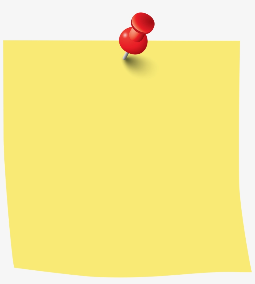 Sticky Note Png Clip Art Image Note Paper, Creative.