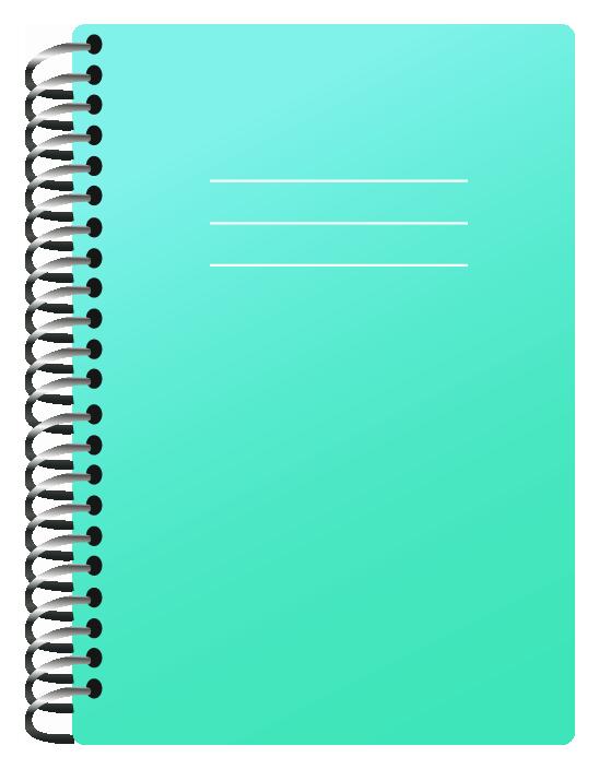 School Notebooks Png (+).