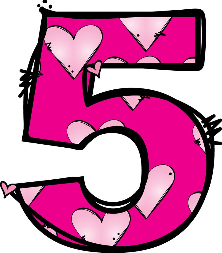 Number 5 clipart » Clipart Station.