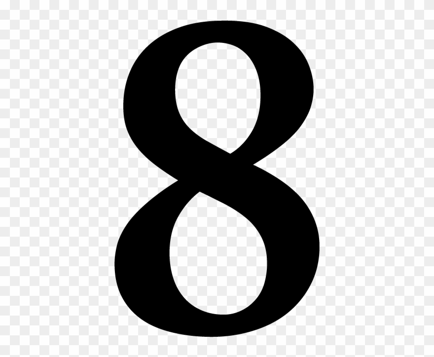 Number 8 Png.