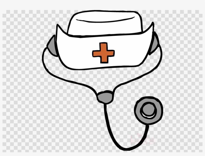 Download Drawing Of A Nurse Hat Clipart Nurse's Cap.