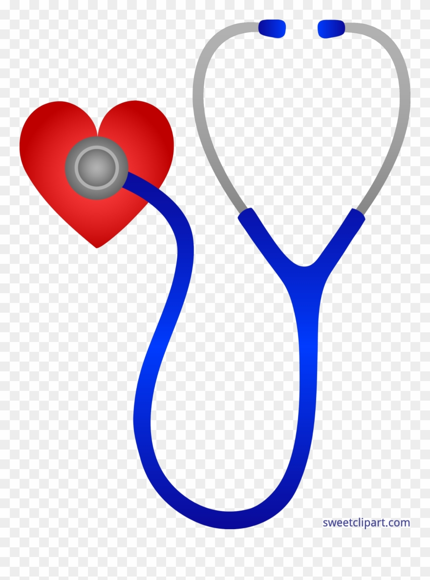 Doctors Stethoscope With Heart Clip Art Clipart.