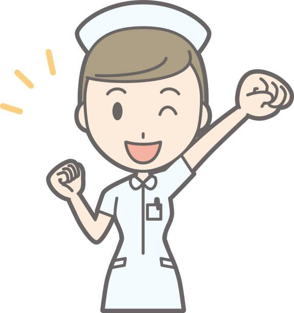 Best Cute Nurse Illustrations, Royalty.