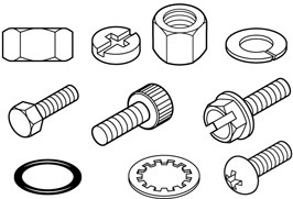 Clipart Bolts Nuts & Free Clip Art Images #15670.