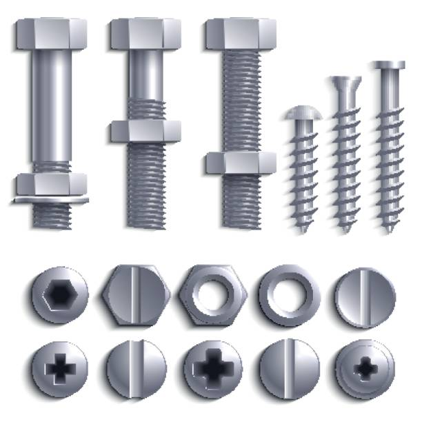 Best Nut Bolt Illustrations, Royalty.