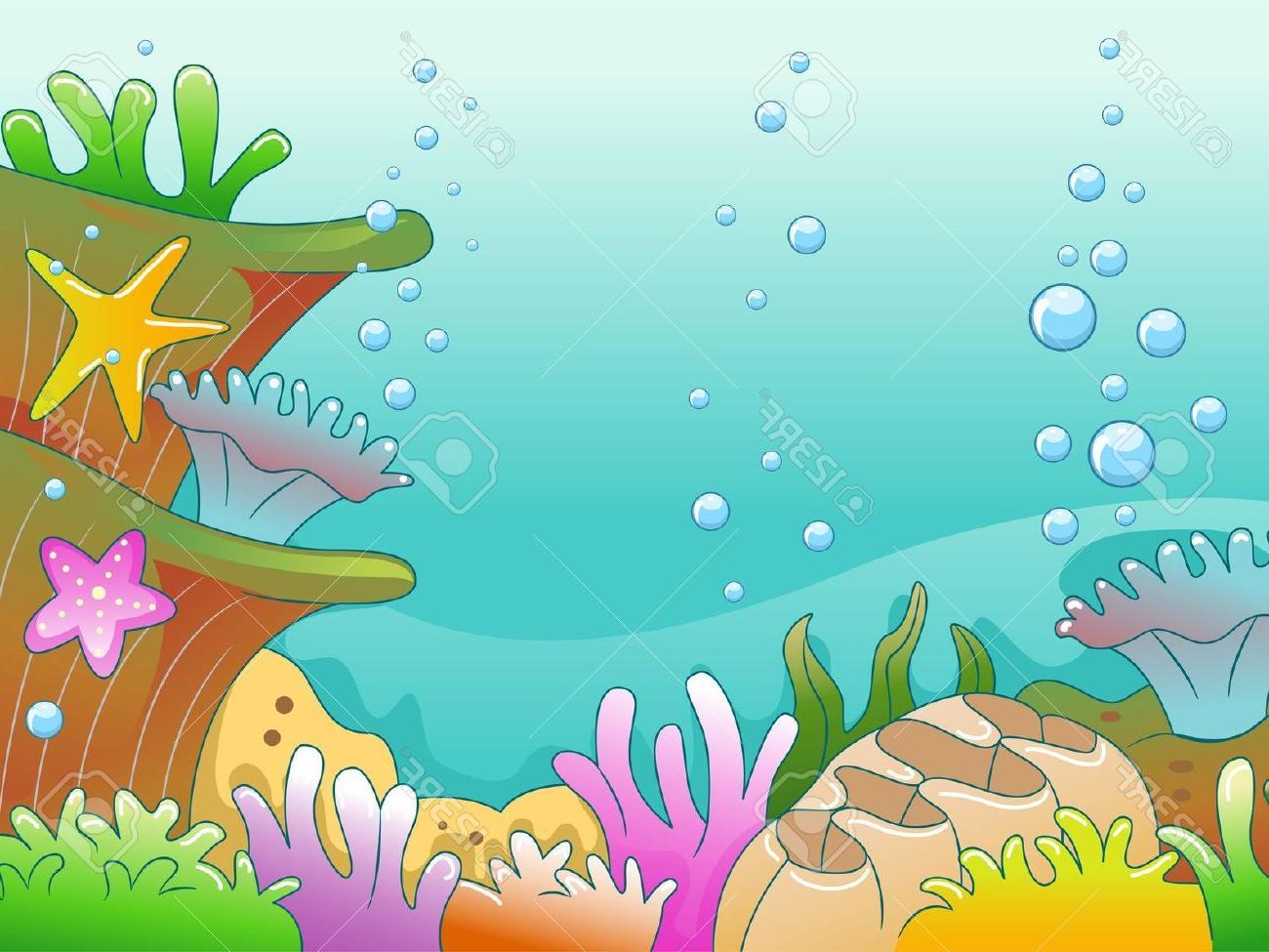 Ocean Floor Clipart.