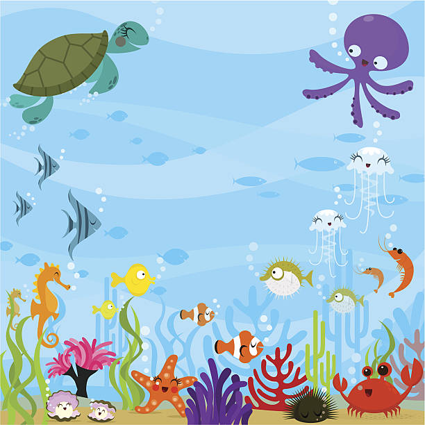 Best Ocean Floor Illustrations, Royalty.