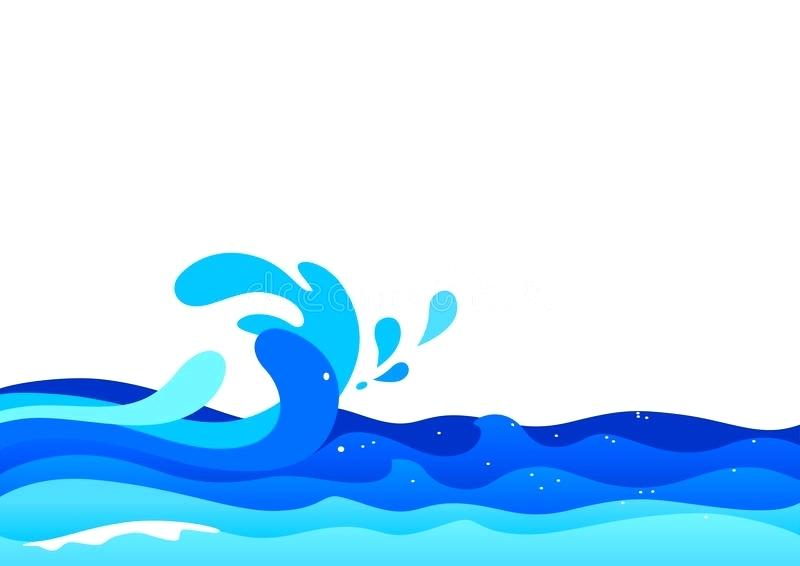 Collection of Water waves clipart.